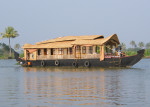 Cruising through the backwaters of Kerala