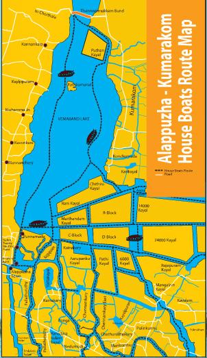 kerala-backwaters-map - Kerala Tourism & Travel Blog