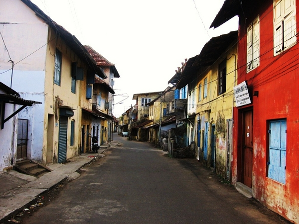 sights in Fort Kochi