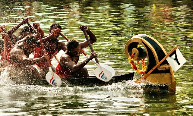 Nehru Trophy Boat Race in Kerala
