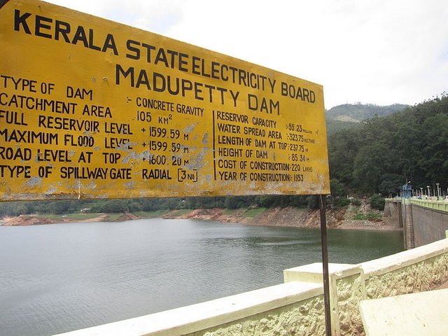 Mattupetty Dam in Munnar