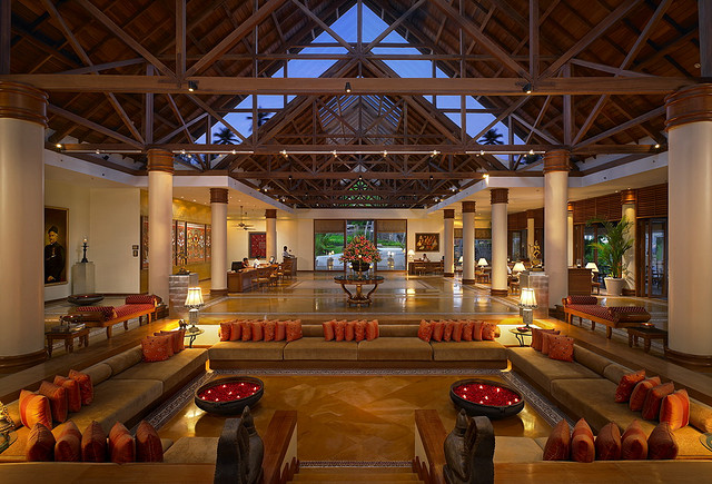 Leela Kovalam  Beach Resort Lobby
