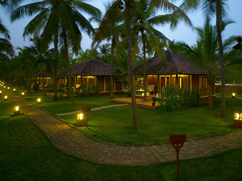 Nattika Beach Resort in Kerala