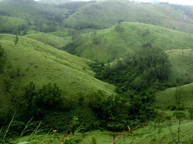 Mystic hills, perfectly maintained lawns and fresh air symbolises Vagamon Hill Station