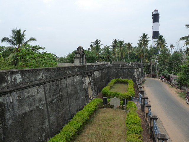 Anchengo has seen historic battle field between the colonial powers like the Dutch, French and the British in Travancore.