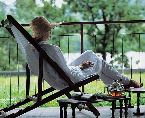 Watching rains from a veranda with a tea cup in  hand is a unique experience