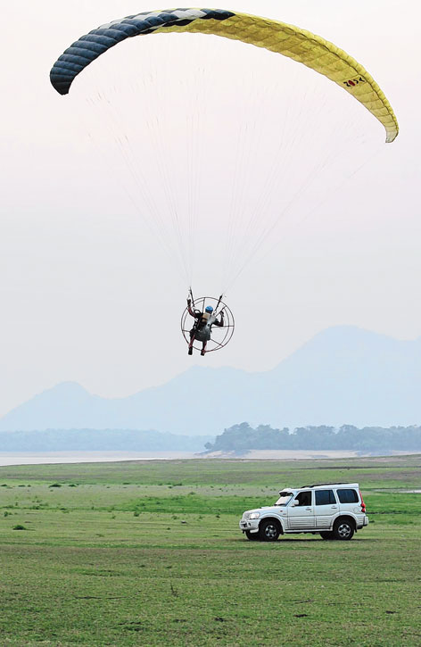 Para-motoring can be promoted in beaches like Muzhipilangad, Payyambalam and Varkala.