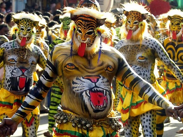 tiger-dance-kerala