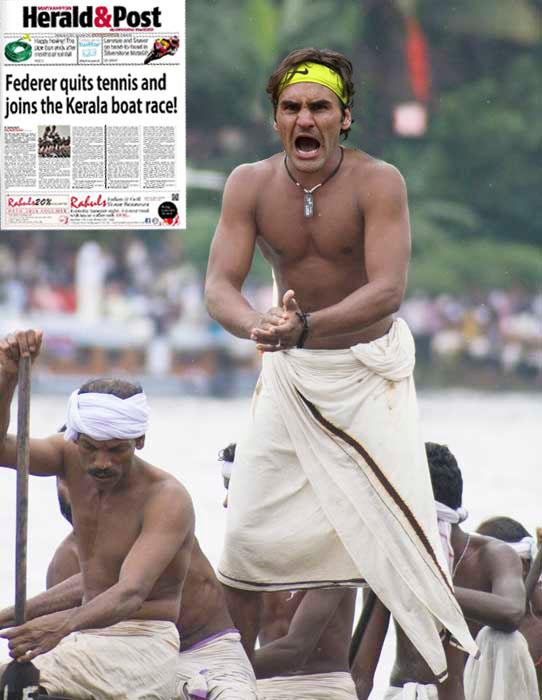 Roger Federer in Kerala- Hilarious #PhotoshopRF tweets from fans