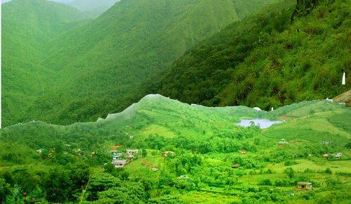 View from Kurisumala Ashram