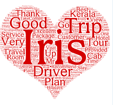 Thanks for the Customer Love and for rating Iris Holidays as the best tour activity in Kochi in TripAdvisor