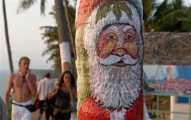 Xmas Celebrations in Kovalam