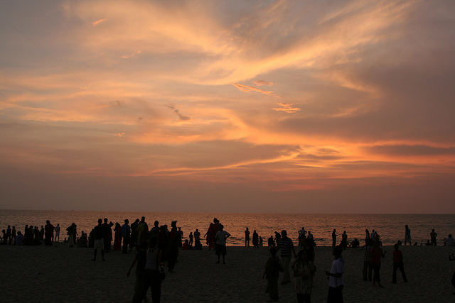 alleppey-beach-sunset-kerala