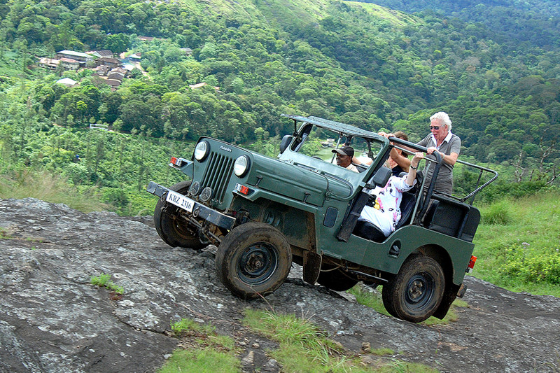 Jeep Safari in Kerala at Thekkady