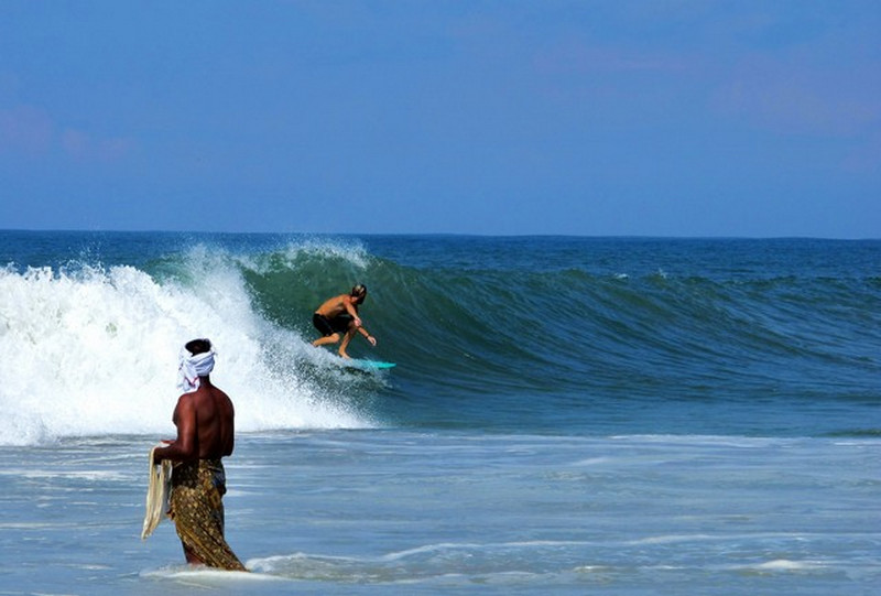Kannur, Kovalam and Varkala are among the best destinations to surf in India