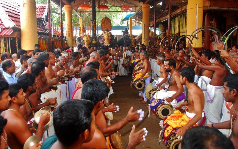 Panchavadyam Kerala