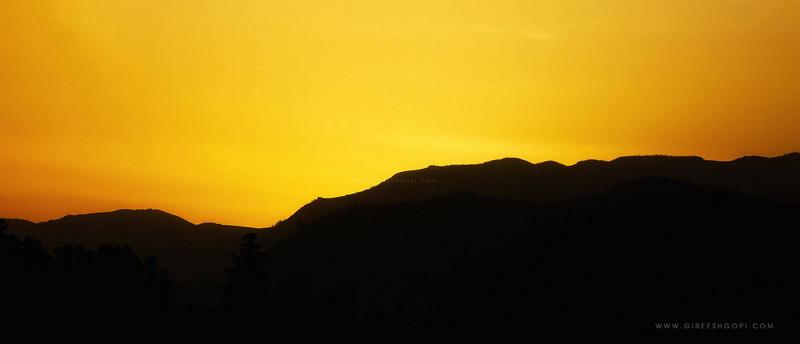 Sunrise in Munnar