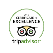 And it's a hat-trick! Iris Holidays is a winner of TripAdvisor Certificate of Excellence 2016