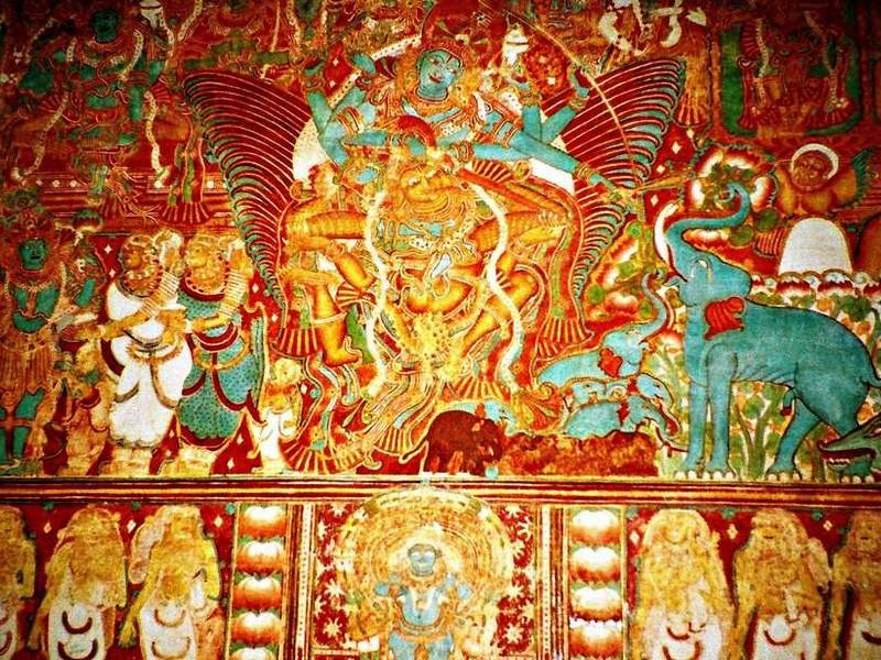 salvation of elephant king krishnapuram-palace