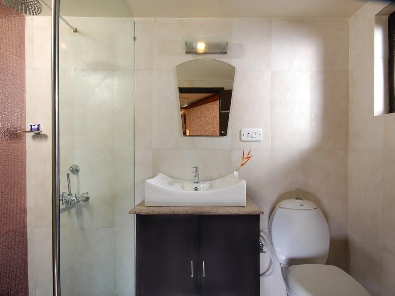 Bathroom in Backwater Cruise