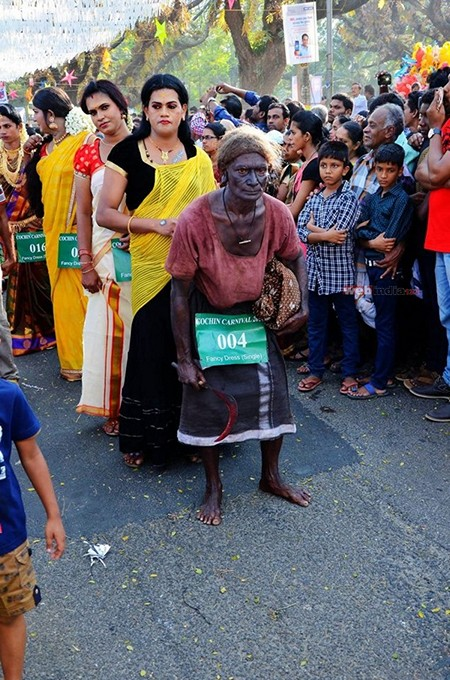 Fancy Dress Competition in Cochin Carnival