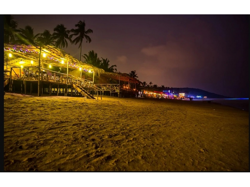 Night Life and Beach Shacks in Goa