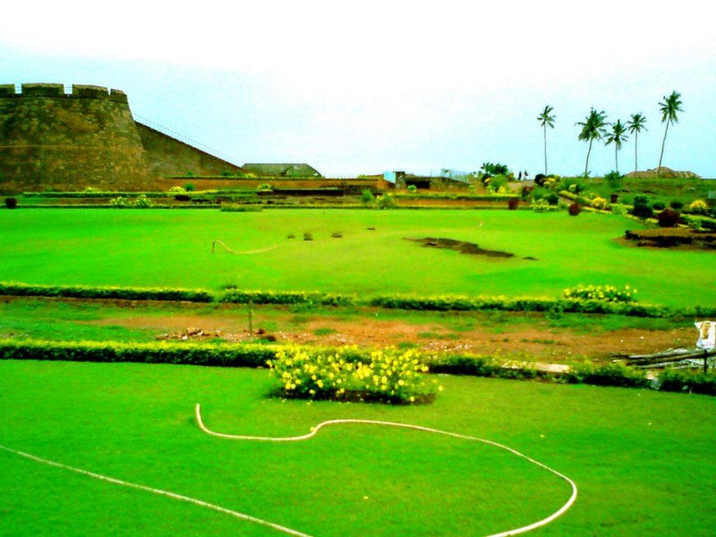 Bekal Fort in Kerala