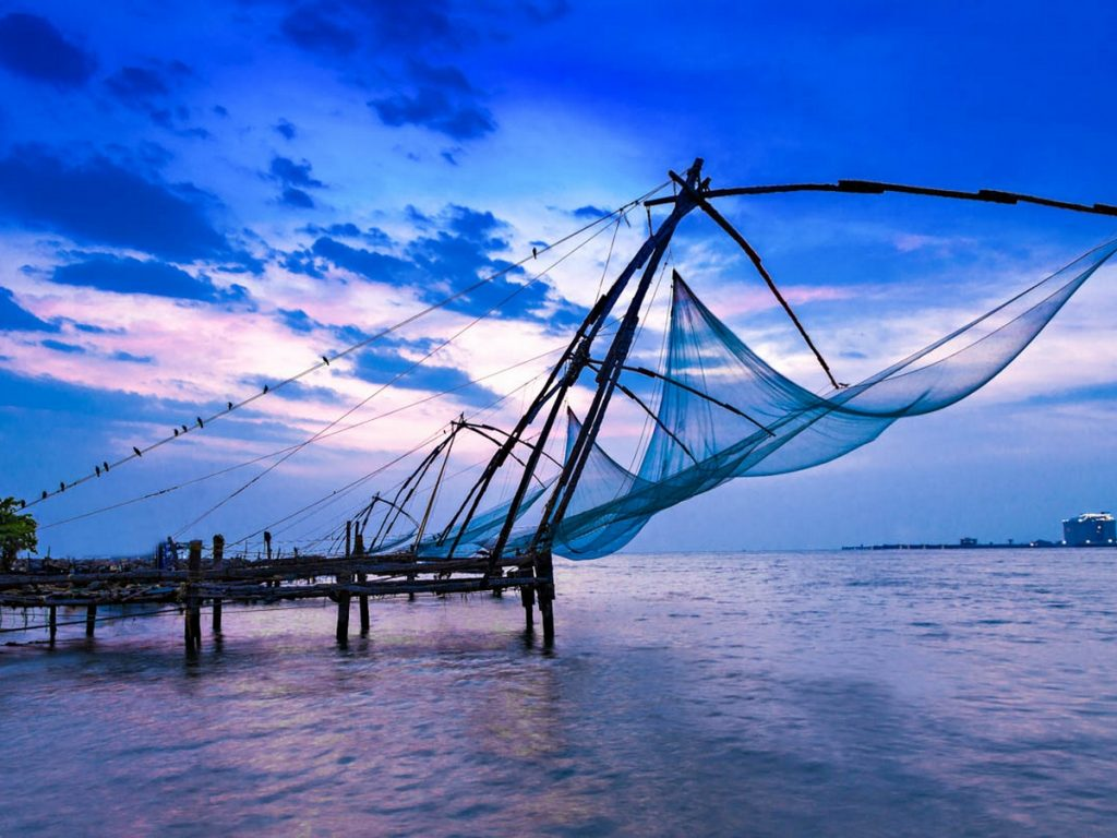 Chinese Fishing Nets in Kochi- Queen of Arabian Sea