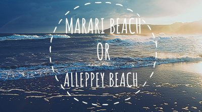 Marari or Alleppey Beach