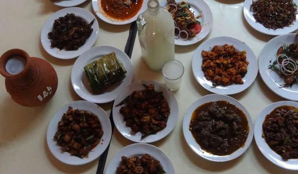 Mullapanthal Toddy Shop Nonveg Platter