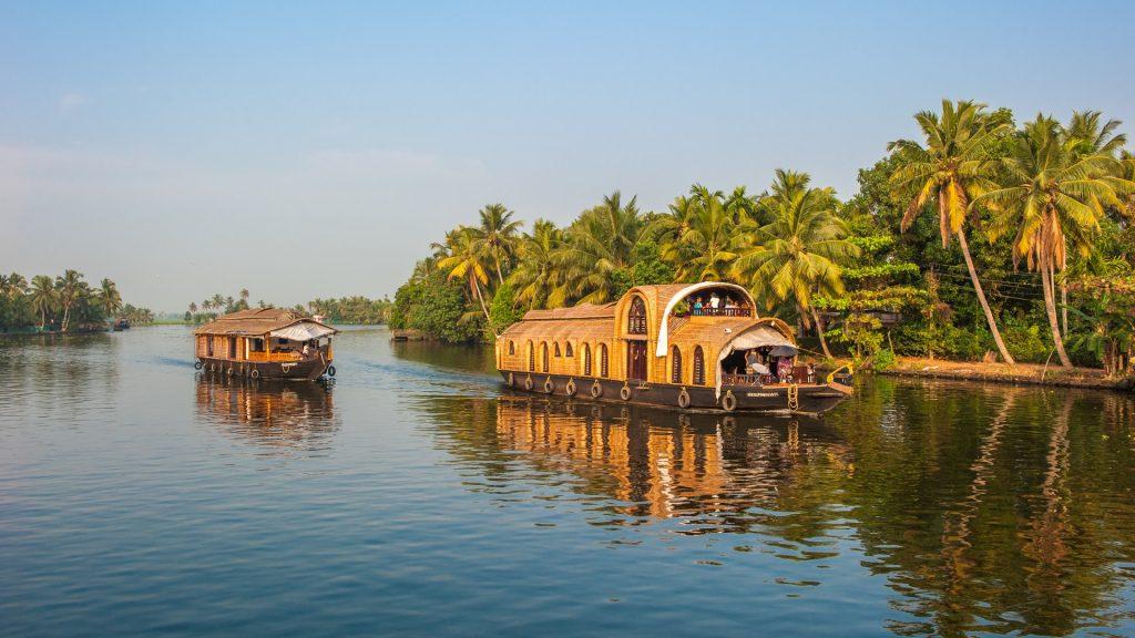 Kumarakom Backwaters of Kerala, India
