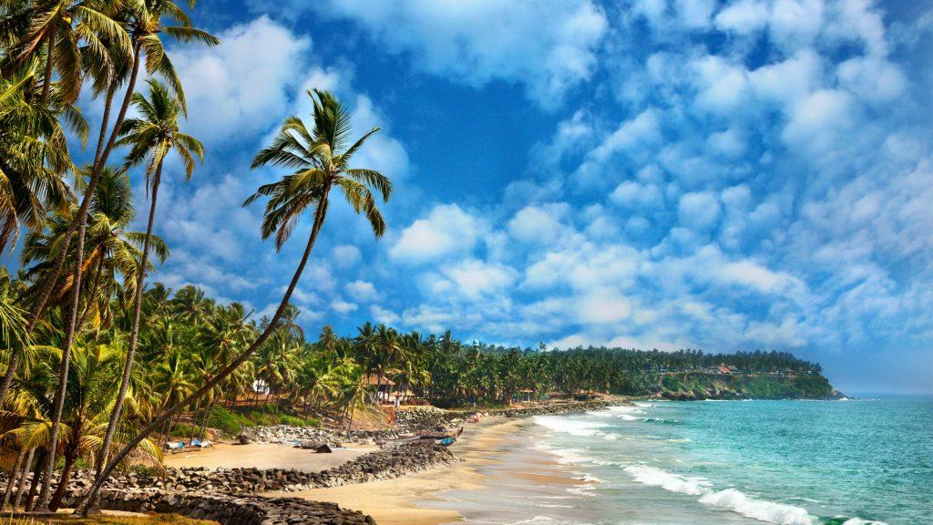 varkala-beach-kerala-India