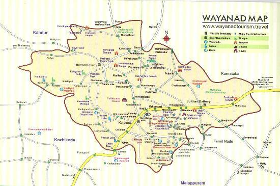 Wayanad map